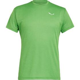 SALEWA Puez Melange Dry Camiseta Manga Corta Hombre, pale frog melange
